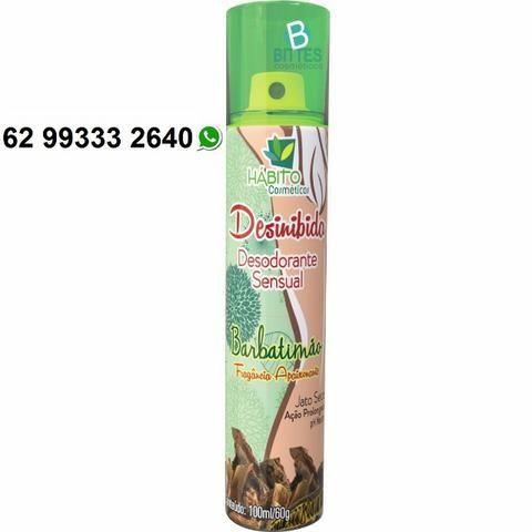 Desodorante Sensual Barbatimão e Morango Chantilly 100 ml