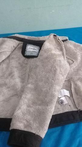 Jaqueta feminina de pêlo - Foto 6