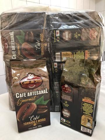 Kit 20 Pct Café Gourmet Artesanal Torrado Moido Frete Gratis - Foto 2