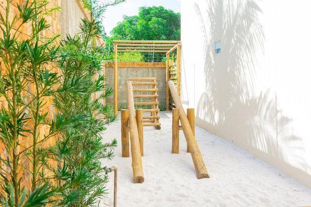 Apartamento 02 quartos, nascente na Barra Nova com Varanda - Foto 4