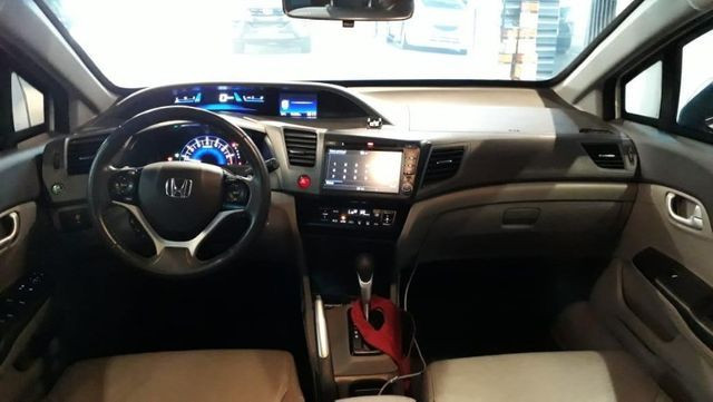 Blindado Honda Civic lxr Flex 13/14 80.000 km - Foto 3