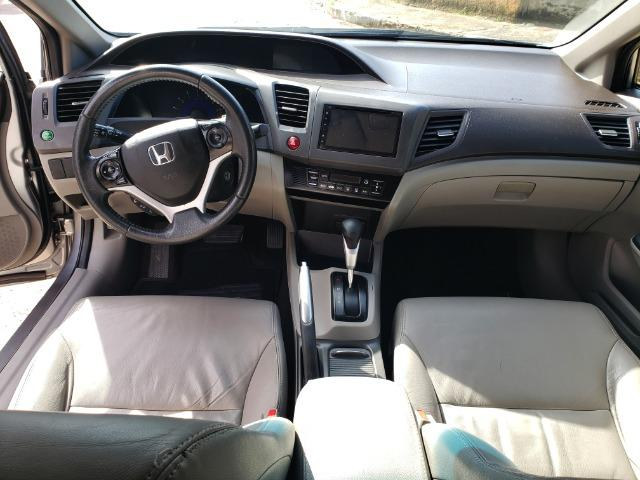 Honda Civic 2014 2.0 LXR Automatico Excelente Carro - Foto 8