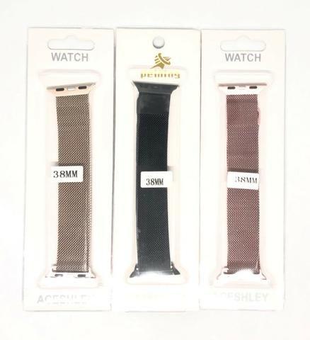 Pulseira Magnética Para Relógio Smartwatch Apple Watch ou W34 38mm Produto Novo