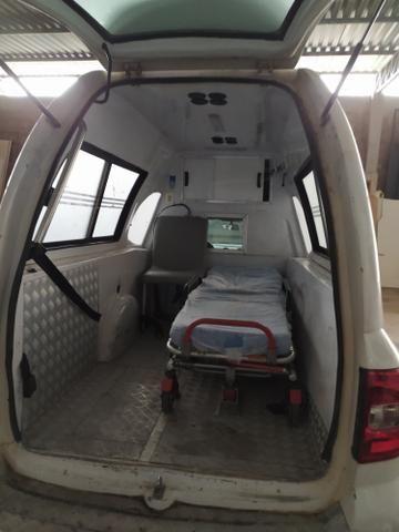 Vw Saveiro ambulância 2011. Barato - Foto 4