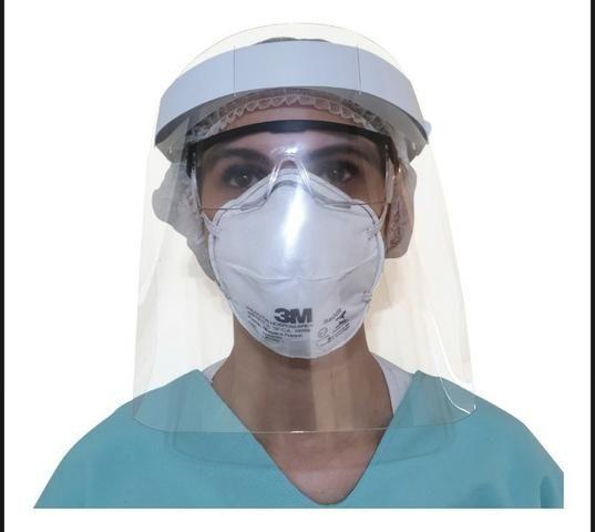 Máscara de proteção facial shield - Foto 6