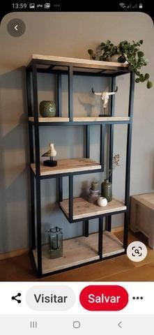 Móveis estantes mesas. estilizados ou sob medida - Foto 6