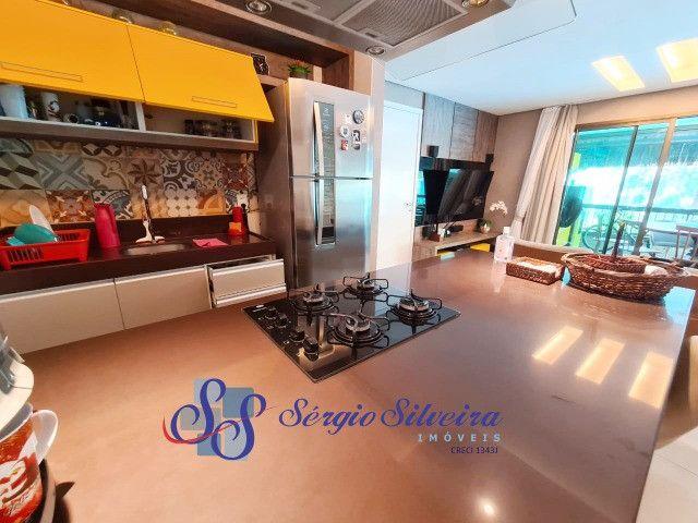 Mobiliado! Apartamento no Porto das Dunas com 3 quartos Parque das Ilhas - Foto 2