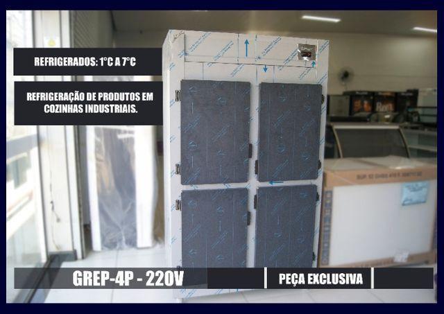Refrigerador Comercial 4 portas - Produto NOVO - Sibéria Equipamentos