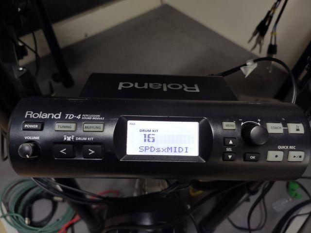 Modulo Td4 Roland Bateria Eletrônica