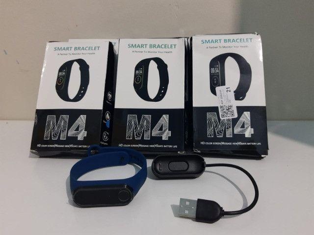 Pulseira Relógio Inteligente Smartband M4 (Eunápolis) - Foto 2