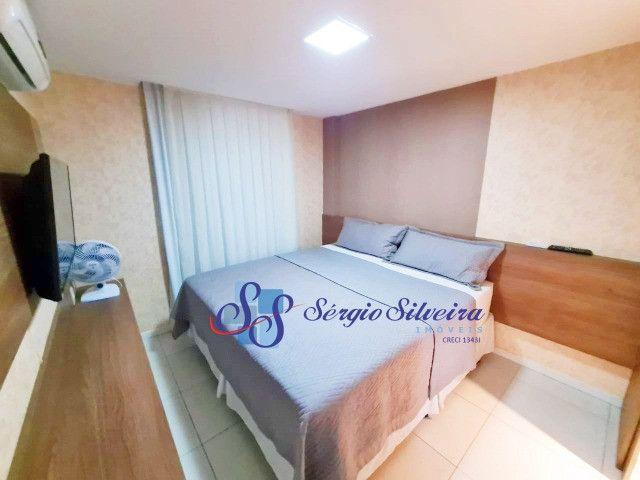 Mobiliado! Apartamento no Porto das Dunas com 3 quartos Parque das Ilhas - Foto 6