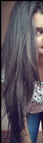 Vendo cabelo humano 45 cm cabelo levemente ondulado - Foto 2