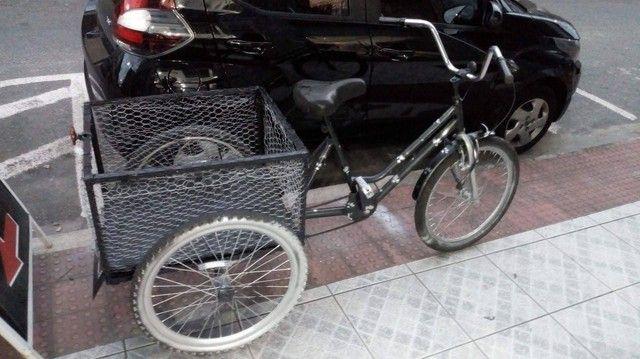 Vendo bicicleta triciclo cargueira - Foto 5