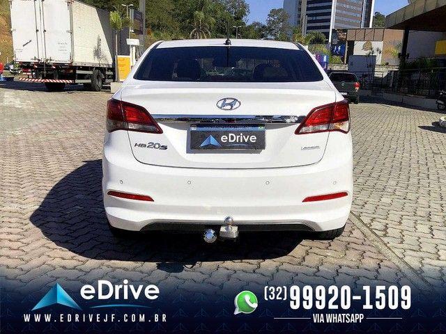 Hyundai HB20S Premium 1.6 Flex Aut. - 1 Ano de Garantia - IPVA 2021 Pago - Completo - 2018 - Foto 6