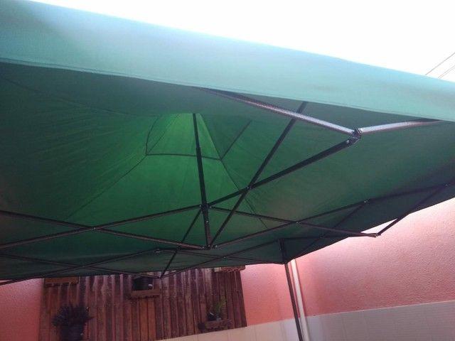 Vendo tenda 3× 3 E carrinho de Lanche - Foto 4