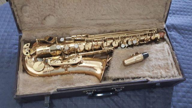 Saxofone Alto Weril Master com Biqueira Selmer  - Foto 4