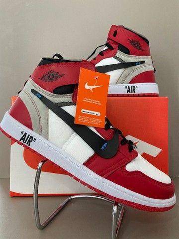 Tênis Air Jordan Com 3 Cardaços - Foto 4