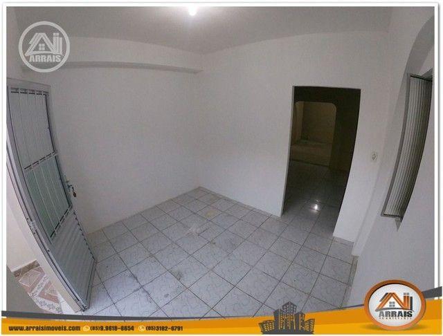 Casa com 3 dormitórios para alugar, 90 m² por R$ 900,00/mês - Vila União - Fortaleza/CE - Foto 5
