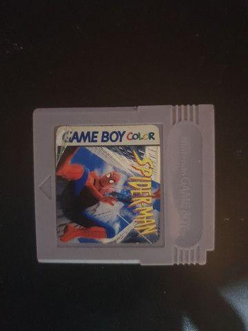 Fita do Spider-Man Game Boy Color