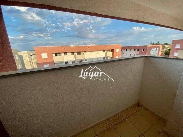 Apartamento com 2 dormitórios para alugar por R$ 900,00/mês - Jardim Morumbi - Marília/SP - Foto 5