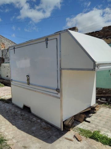 carroceria  trailer food truck lanches