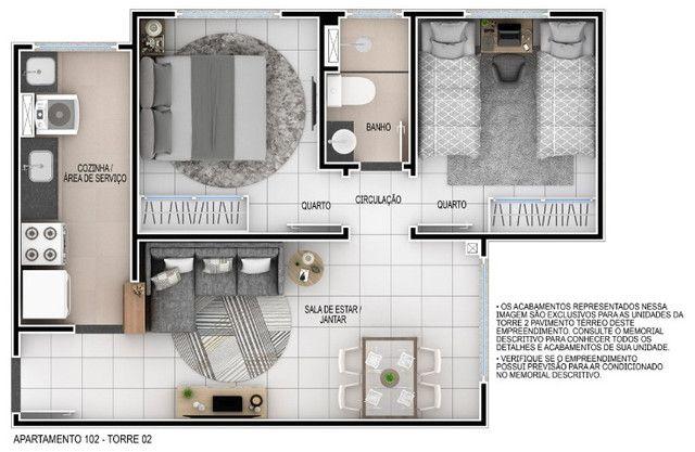 Venha morar no melhor do passaré com lazer completo 2 quartos e elevador. - Foto 11