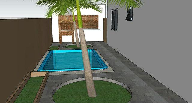 Casa solta de esquina, 3 qts, com piscina! - Foto 6