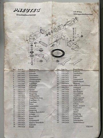 Esmerilhadeira Pneumática 7 Angular Nova - Foto 6