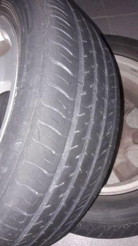 pneu e rodas gm 5 furos - Foto 2