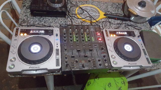 Cdj mk2 800 mp3 com mix 750 bheringhim