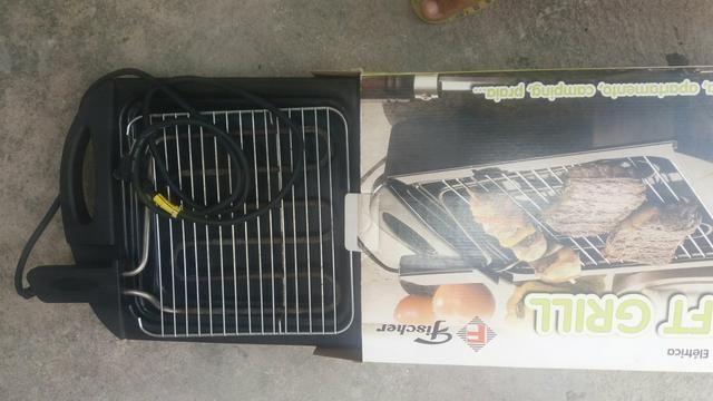 Churrasqueira grill elétrica