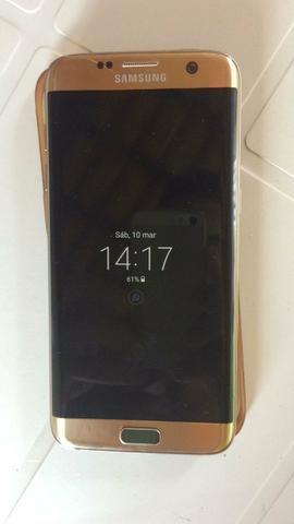 Vendo S7 edge Dourado 32GB 4G RAM