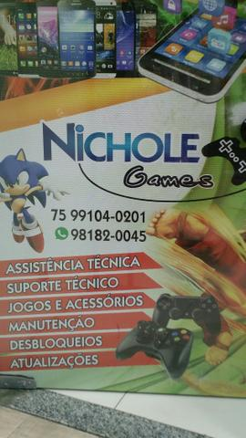 Assistência Técnica Nichole games