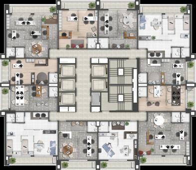 Business Monaco Guarulhos - 30m² a 480m² - Guarulhos - SP - Foto 7
