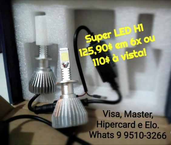 Super LED, Pontente e Garantido!