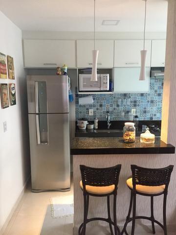 Belíssimo apartamento todo mobiliado em Colina de Laranjeiras por 180mil