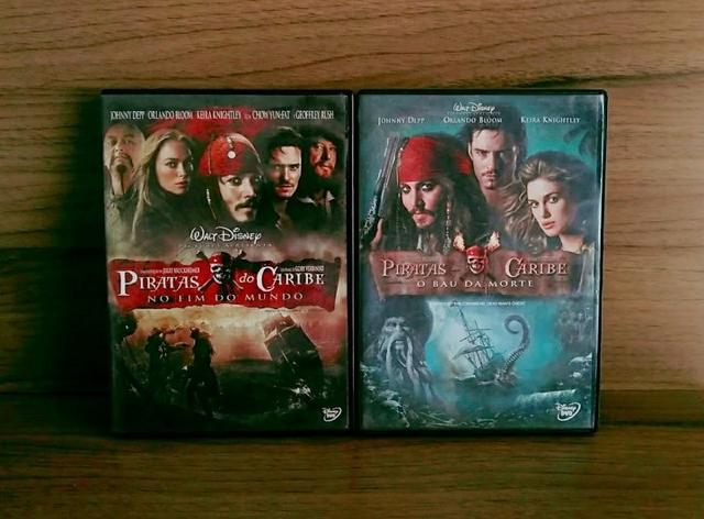 DVDs: piratas do Caribe volume : 2,3