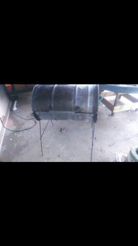 Churrasqueira de tambor bafo