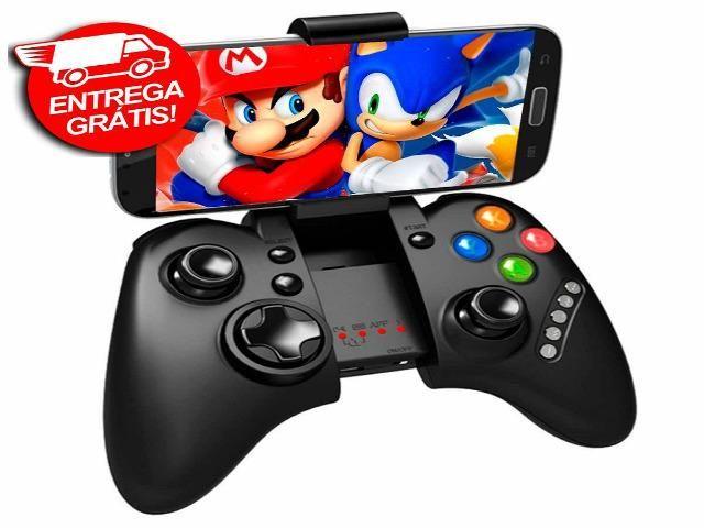 Controle Joystick Bluetooth Ipega 9021 Galaxy iPhone Games -Novo- Entrega Grátis