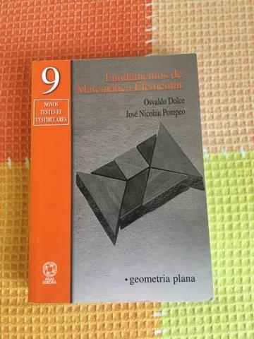 Livro Fundamentos da Matemática Elementar geometria plana