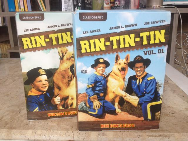 DVD Box Rin Tin Tin vol. 1 e 2