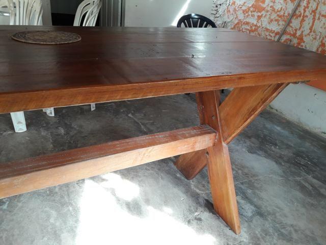 Belíssima mesa rustica