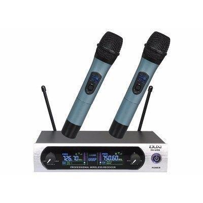 Microfone Sem Fio Duplo Uhf Digital Duxaudio Du-u204 Bivolt zap 998137183