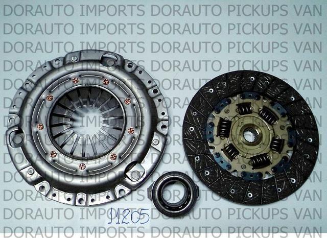 Kit embreagem c/rol besta 2.2/sportage 2.0 2.2 d/k2400 225mm/22 estr - Foto 2
