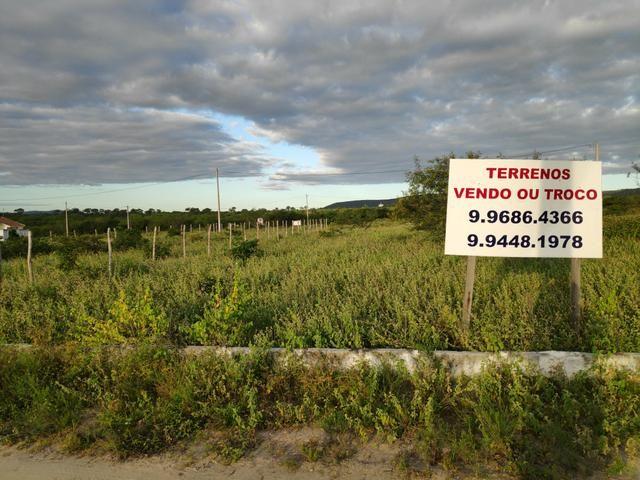 Oportunidade Vendo / Troco Vários Terrenos em Encruzilhada de São João - Foto 5