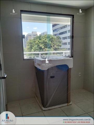 Apartamento com 3 dormitórios à venda, 121 m² por r$ 800.000,00 - aldeota - fortaleza/ce - Foto 14