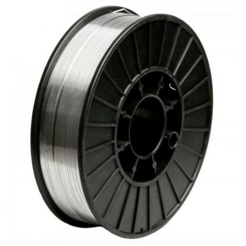 Arame Mig Para Solda Em Alumínio 0,8mm ER4043 - Rolo 2kg - BRAX