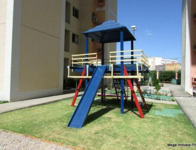 Mega vende apartamento com área de lazer completa e excelente localização - Foto 8