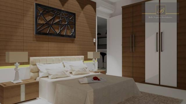 Apartamento com 2 dormitórios à venda, 55 m² por R$ 182.524 - Santa Catarina - Joinville/S - Foto 8