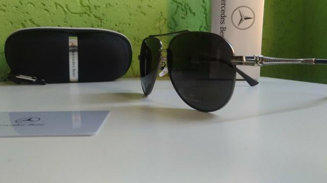 69f851d21 Óculos Mercedes-benz Aviador 2019 - Polarizado E Original ...